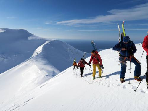 Spots for Ski Mountaineers